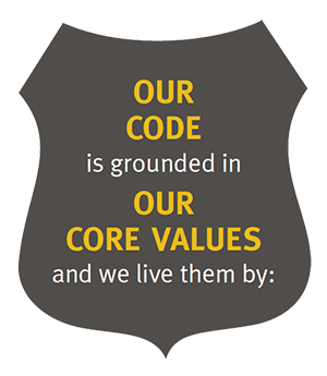 Our code badge